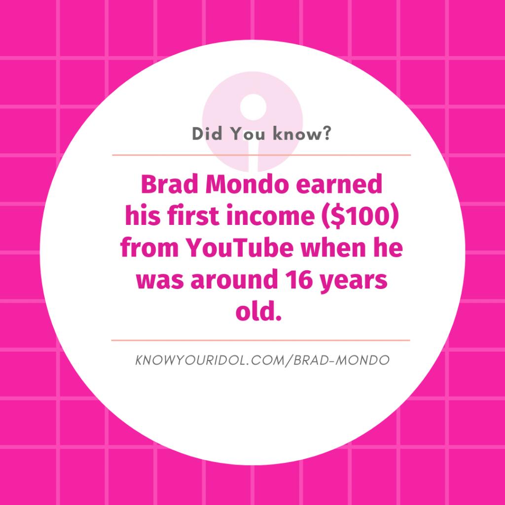 Brad Mondo Facts