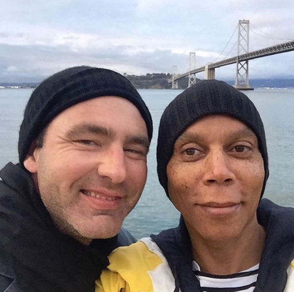 Georges and RuPaul