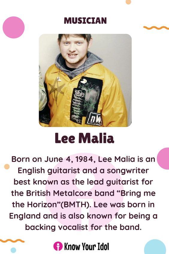 Lee Malia