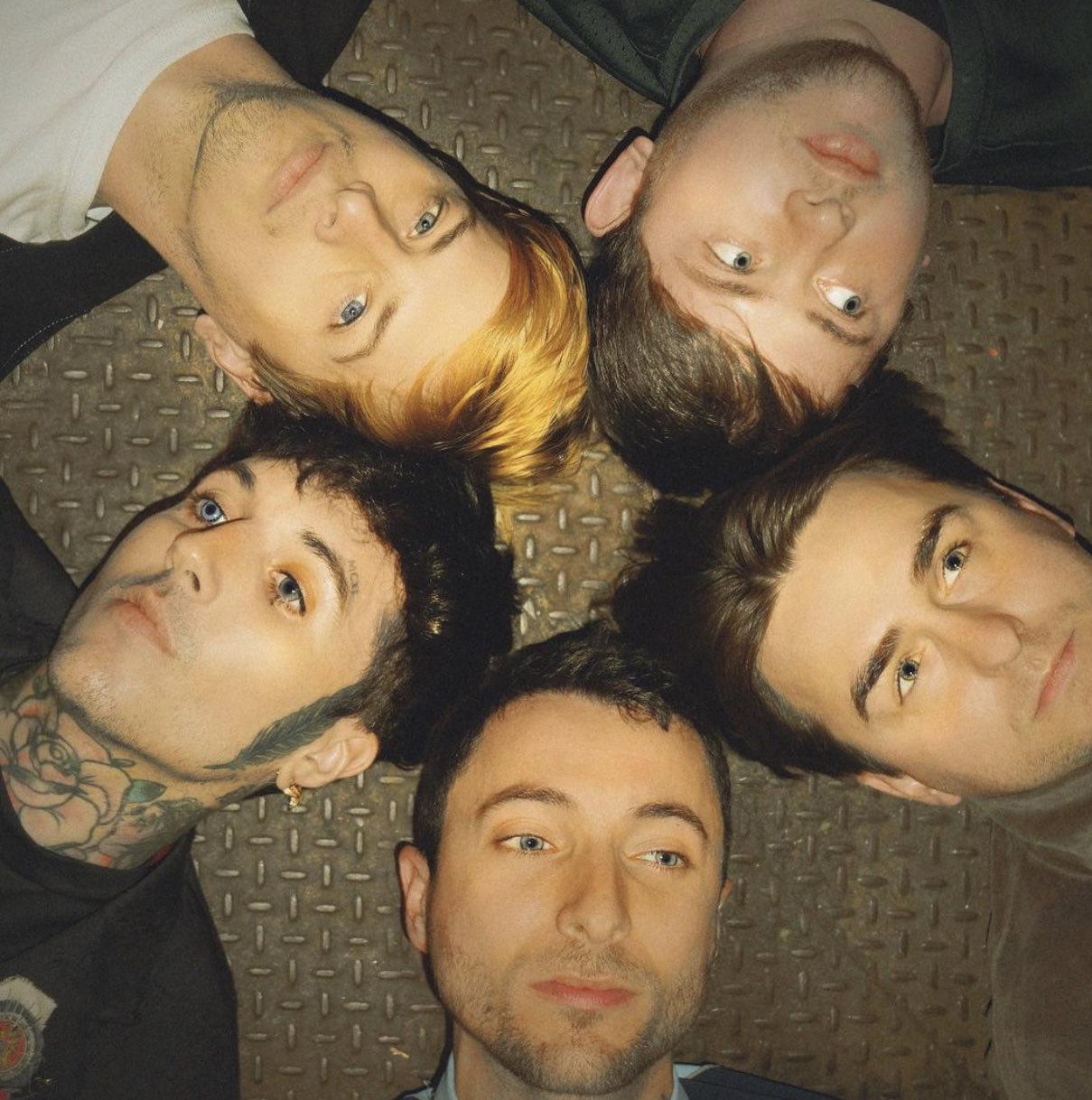 Matt kean with his band members