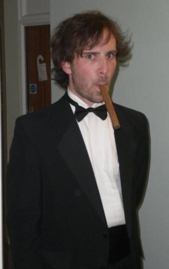 Simon Whistler with Hair