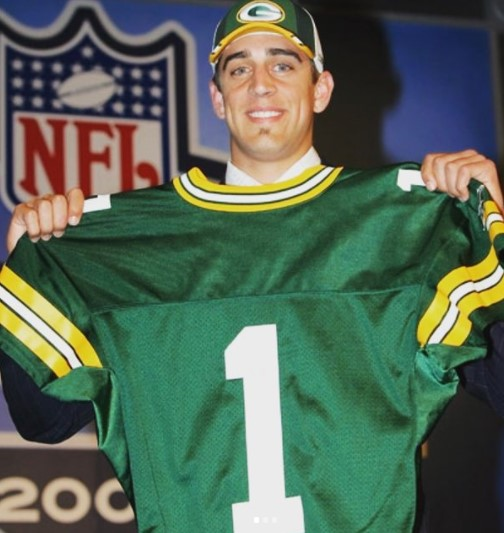 Aaron Rodgers Young