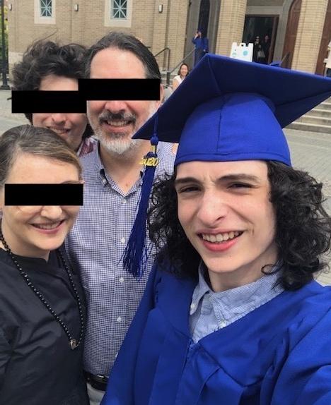 Finn Wolfhard family