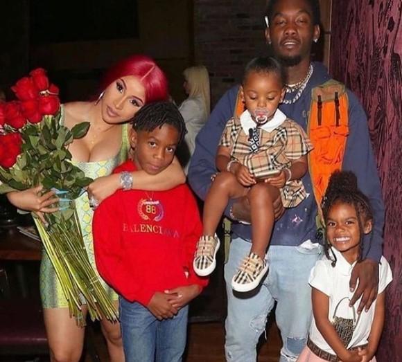 Jordan cephus with his family