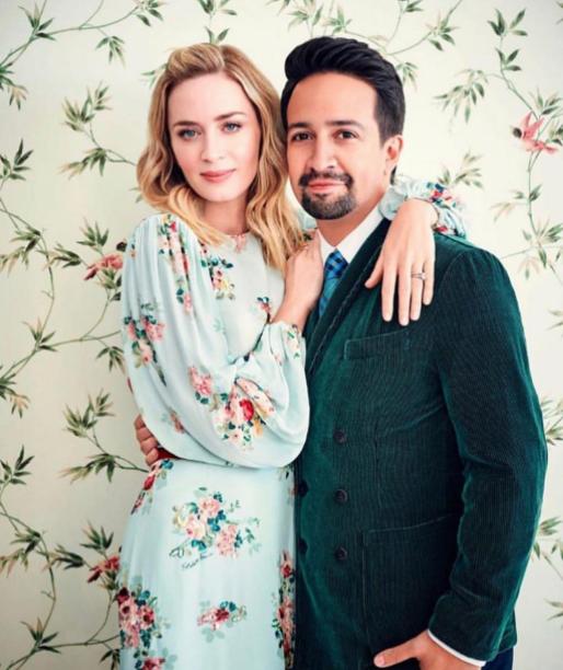 Lin Manuel Miranda and his wife
