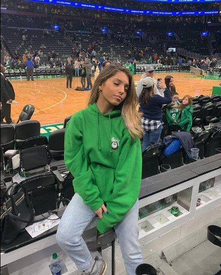 Megan Eugenio at NBA