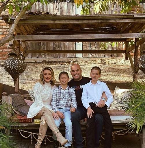 Tito Ortiz family