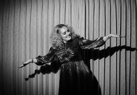 Adele dancing