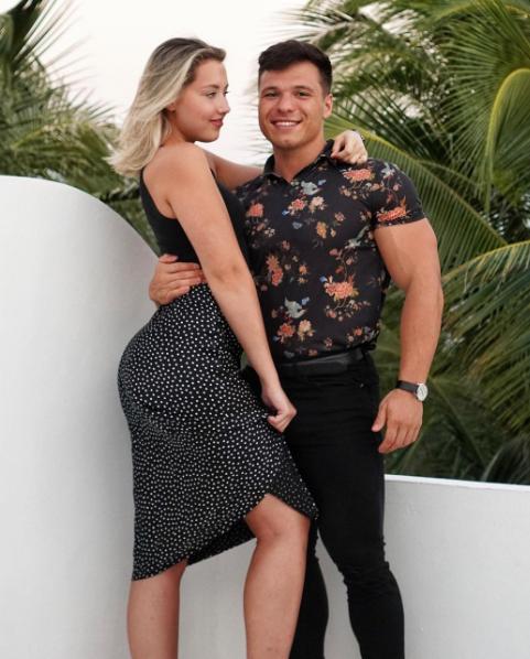 Alex Bozinovski and Alice Komp
