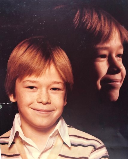 Donnie Wahlberg young