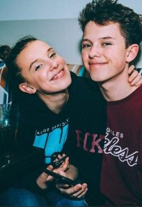 Millie with Jacob