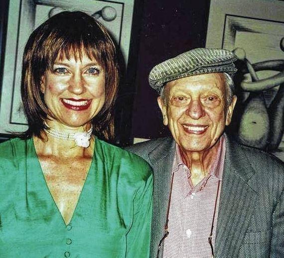 Karen Knotts and Don Knotts